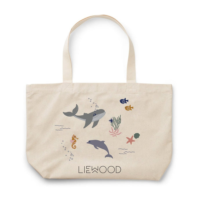 Liewood Tote Bag Large - Sea Creature Mix
