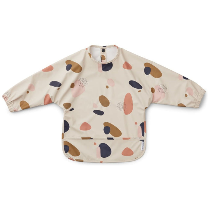Liewood Merle Cape Bib - Bubbly Sandy