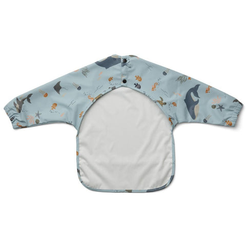Liewood Merle Cape Bib - Sea Creature Mix