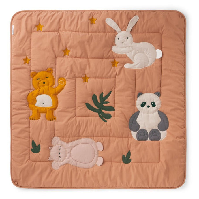 Liewood Organic Glenn Baby Activity Blanket & Play Mat - Tuscany Rose
