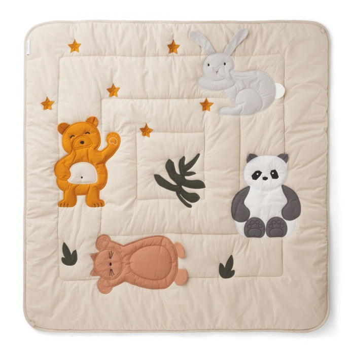 Liewood Organic Glenn Baby Activity Blanket & Play Mat - Classic Sandy