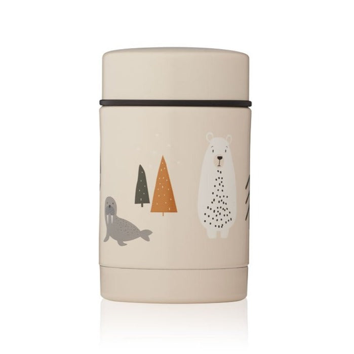 Liewood Nadja Food Flask - Arctic Mix