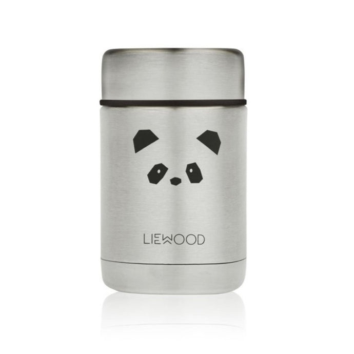 Liewood Nadja Food Flask - Panda Stainless Steel