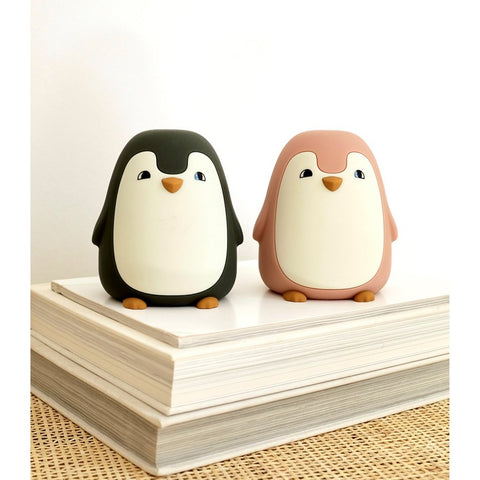 Liewood Ditlev Nightlight - Penguin Dark Rose