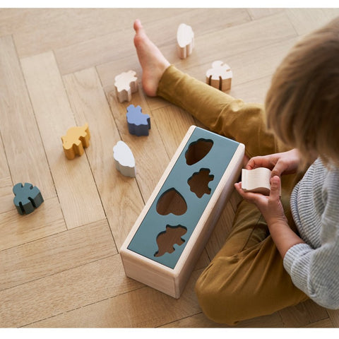 Liewood Wooden Midas Puzzle Box - Dino Mix