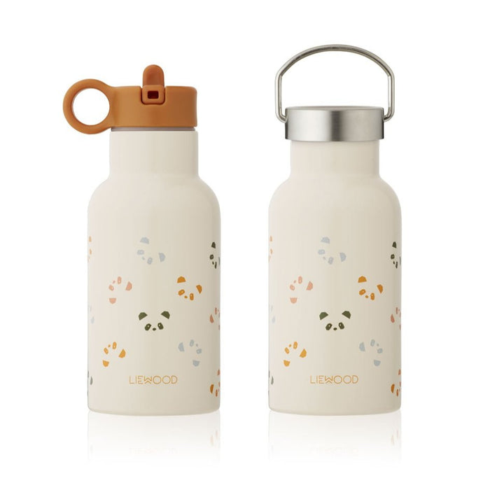 Liewood Anker Steel Water Bottle - Panda Sandy Multi Mix