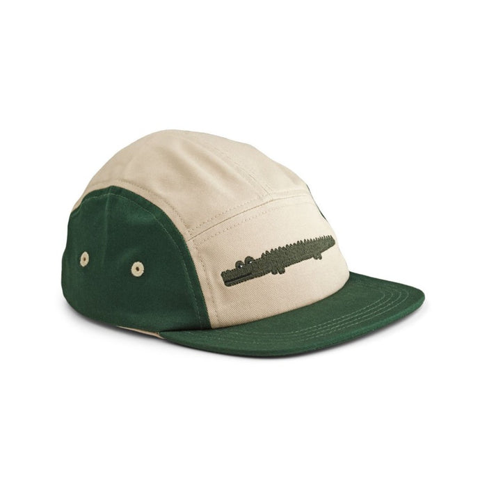 Liewood Rory Cap - Crocodile Garden Green Mix