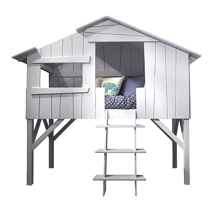Mathy by Bols Treehouse Single Cabin Bed (26 Colours Available)