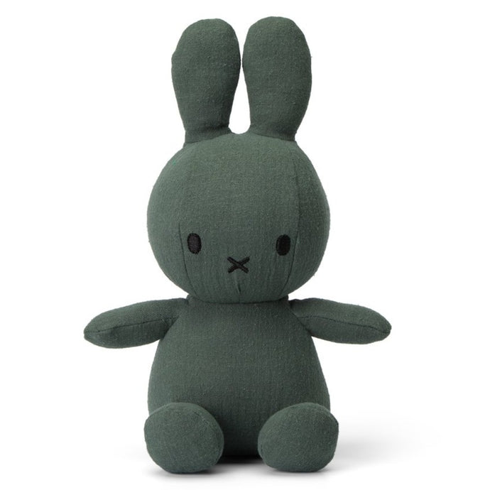 Miffy Mousseline Soft Toy - 23cm Green