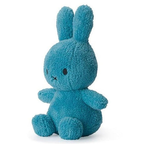 Miffy Terry Soft Toy - 23cm Blue