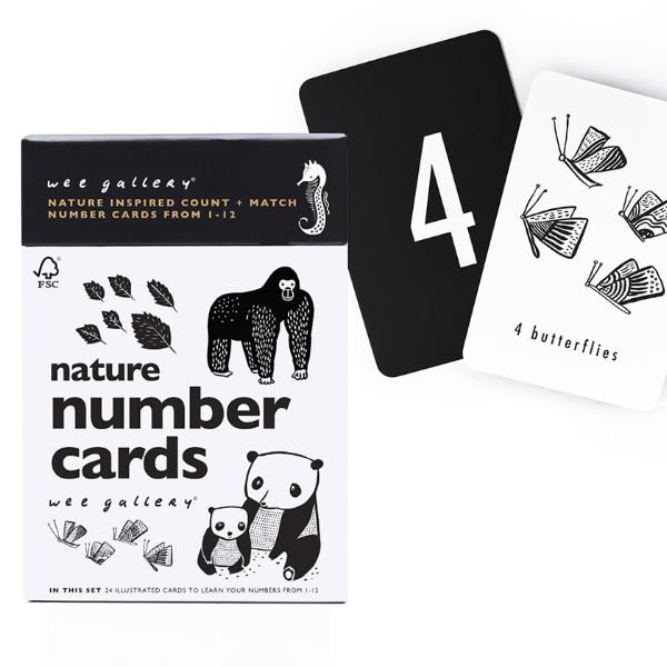 Wee Gallery Nature Number Cards | Soren's House