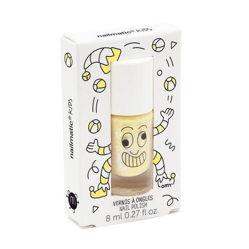 Nailmatic Wash Off Nail Varnish - Lulu (Pearly Yellow)
