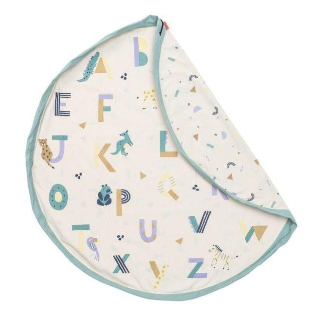 Play & Go Animal Alphabet Toy Storage Bag & Playmat