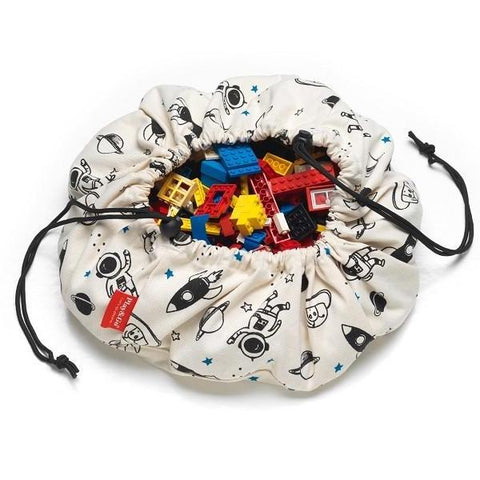 Mini Space Play & Go Toy Storage Bag & Playmat | Soren's House