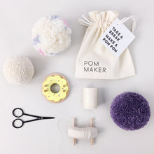 Wooden Lemon Donut Pom Pom Maker by Pom Maker