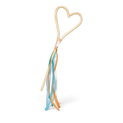 Poppie Toys Rattan Wand - Heart