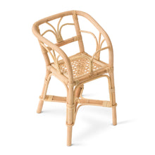 Poppie Toys Rattan Doll's High Chair