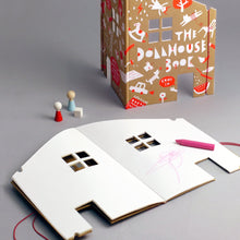 The Dollhouse Colouring Book by Rock & Pebble | Soren's House