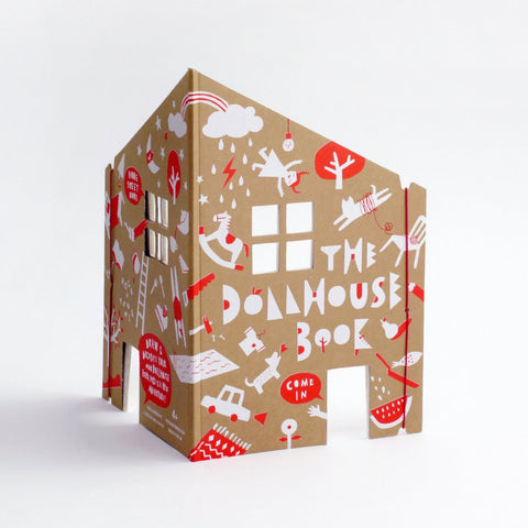 The Dollhouse Colouring Book by Rock & Pebble