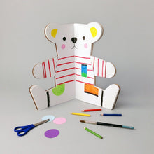 The Teddy Bear Colouring Book by Rock & Pebble | Soren's House