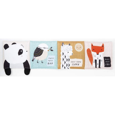 Wee Gallery Roly Poly Panda - Soft Cloth Book