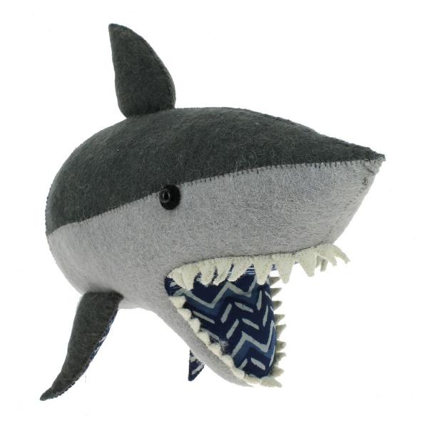 Fiona Walker Felt Shark Head