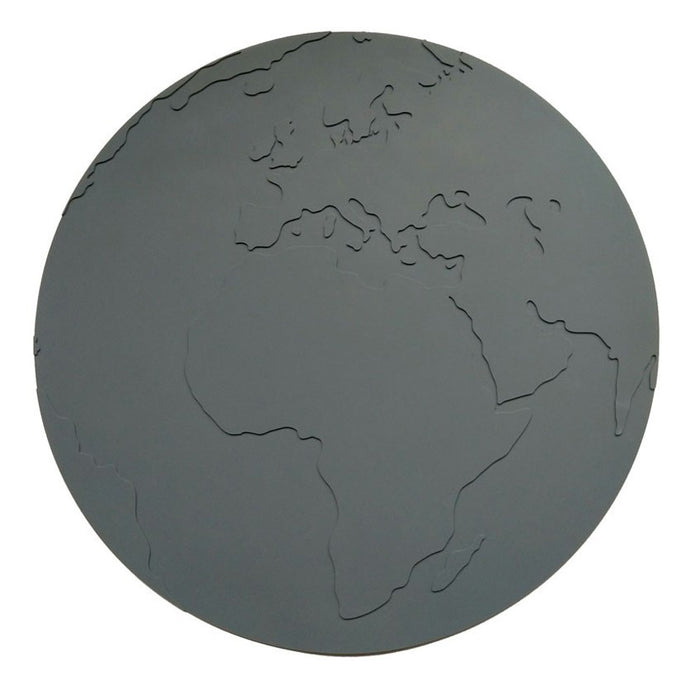 KG Design Silicone Atlas Placemat - Charcoal Grey