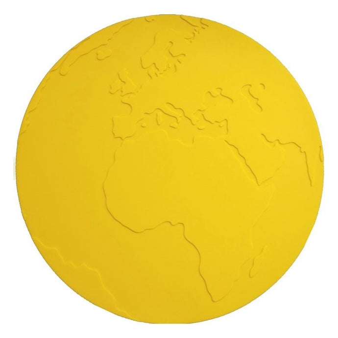 KG Design Silicone Atlas Placemat - Yellow