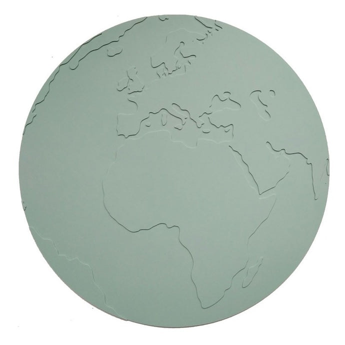 KG Design Silicone Atlas Placemat - Dusty Mint