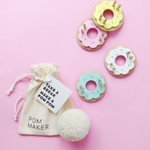 Wooden Pink Donut Pom Pom Maker by Pom Maker | Soren's House