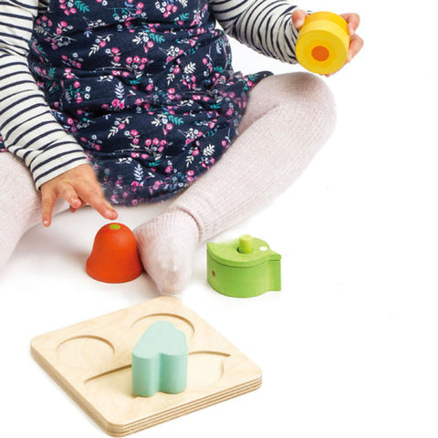 Tender Leaf Toys - Wooden Audio Sensory Tray