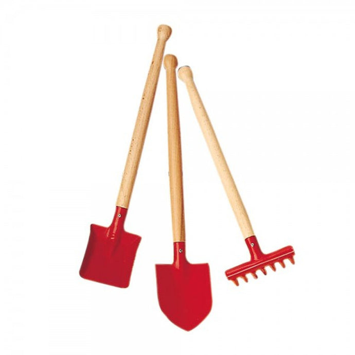 Glückskäfer Children's 3 Piece Sand Tool Set - Red