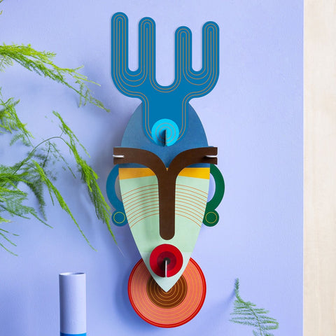Studio Roof 3D Model Wall Decor - Dakar Mask