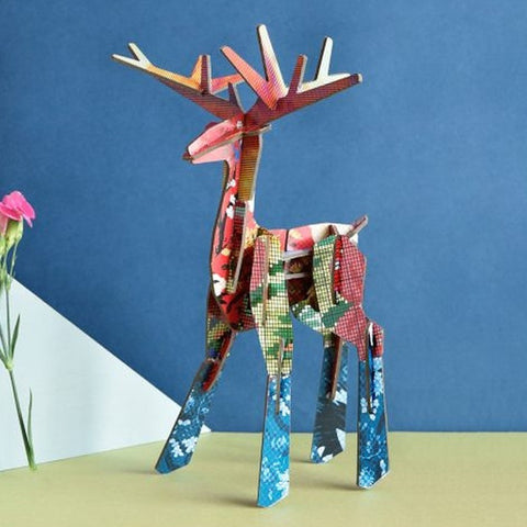 Studio Roof 3D Model - Totem Deer