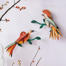Studio Roof 3D Model Wall Decor - Paradise Bird - Obi