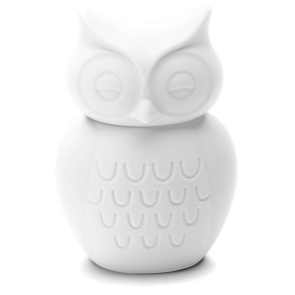 Owl Silicone Money Box by KG Design - White