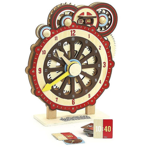 Vilac Wooden Clock For Learning