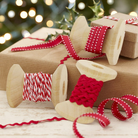 Festive Christmas Ribbons Kit By Ginger Ray