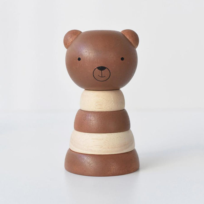 Wee Gallery Wooden Stacker - Bear