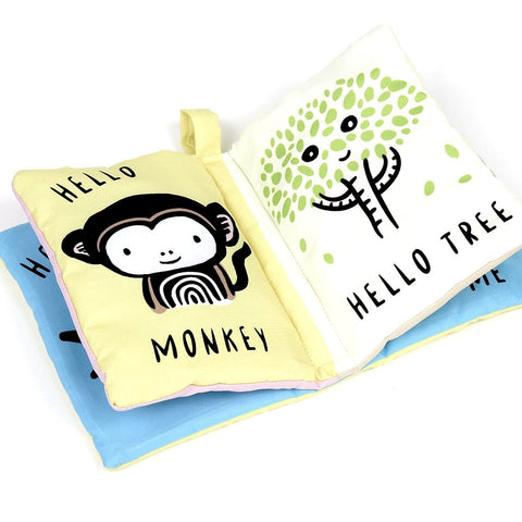 Wee Gallery Hello Me - Soft Cloth Book | Soren's House