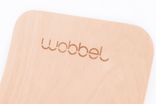 Wobbel Board - Transparent Lacquered Wood Balance Board Without Felt