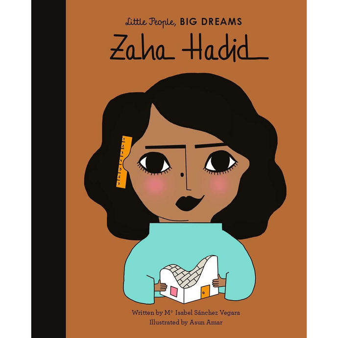 Zaha Hadid (Little People, Big Dreams) - Children's Hardback Book