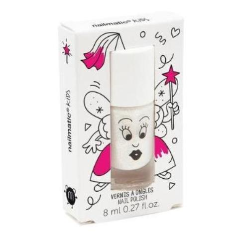 Nailmatic Wash Off Nail Varnish - Zouzou (Pearly White)
