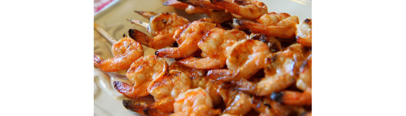 Grilled Sriracha Shrimp