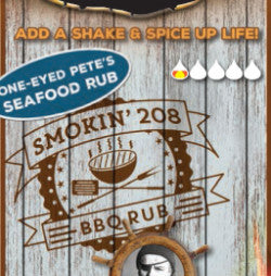 One-Eye'd Pete's Seafood Rub - smokin208 BBQ Co
