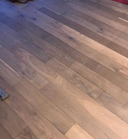 Lightly Smoked Oak Engineered Flooring - SL Interiors