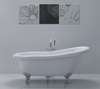 Adare Traditional Free-Standing Slipper Bath White