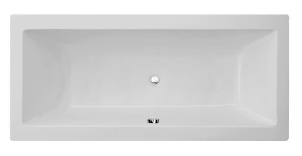 Milan Square Double Ended Bath