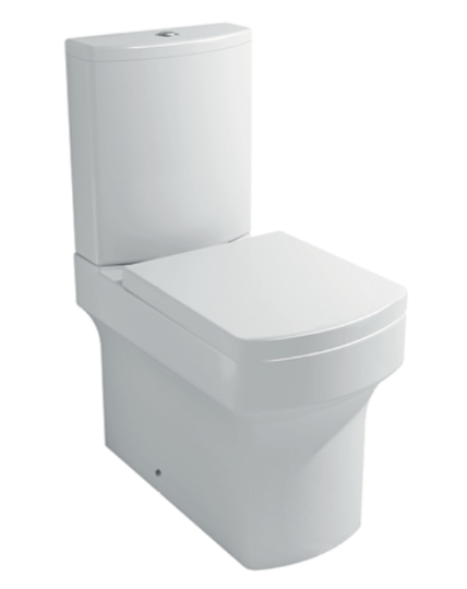 Allure Fully Shrouded Pan, Cistern & Soft Close Seat & Cover