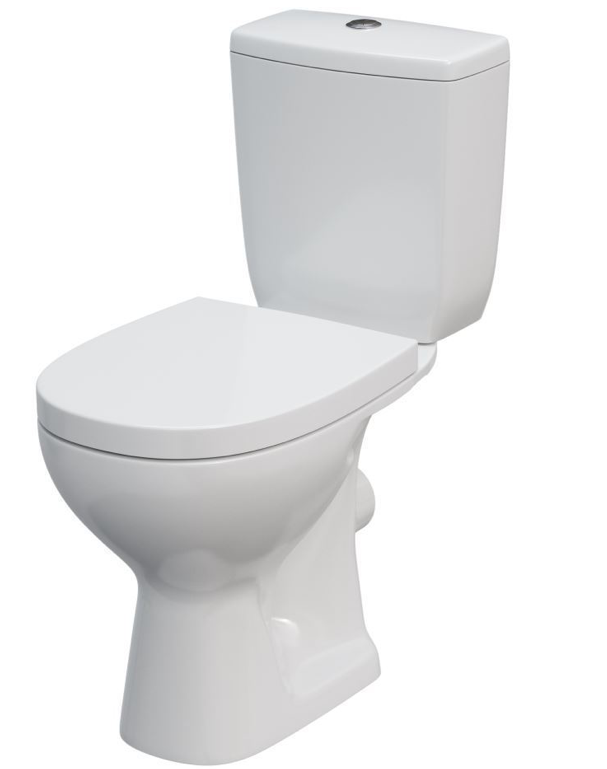 Arteca Compact Pan Toilet, Cistern & Heavy Duty Seat & Cover